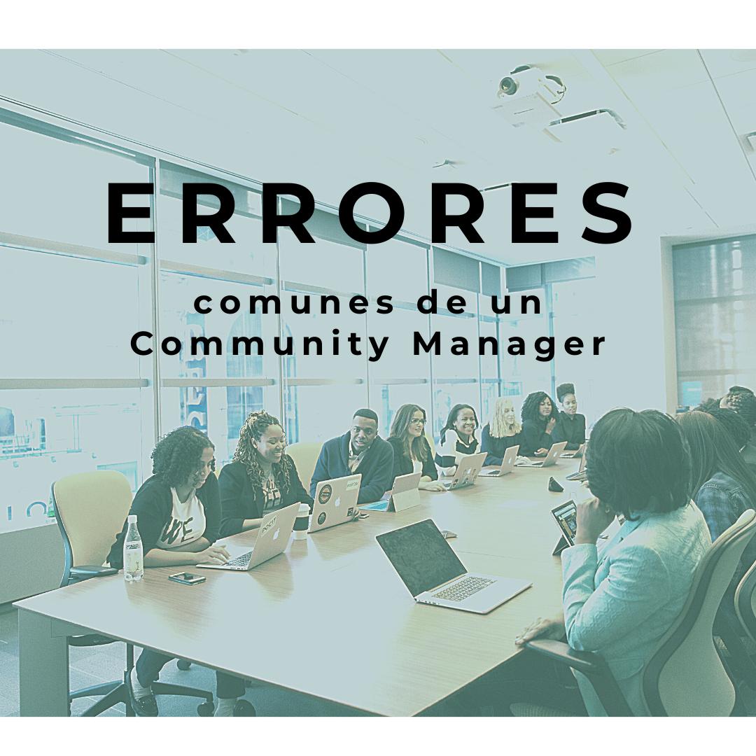 errores-comunes-de-un-Community-Manager